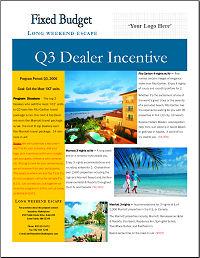 Dealer/Distributor Incentive Programs